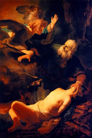 1635 Rembrant - Abraham Not Sacrificing Isaac