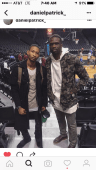 Kortney William & NBA starLuol Deng