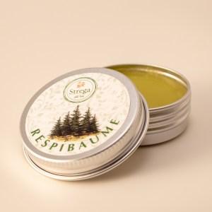Respibaume Baume respiratoire nez bouché gorge poitrine frais dégage apaise sapin menthe Eucalyptus hiver naturel bio biologique France
