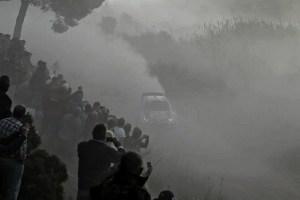 Пыль на ралли Испании