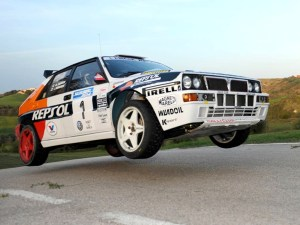 Юхо Канккунен  Lancia Delta Integrale Rallylegend 2014