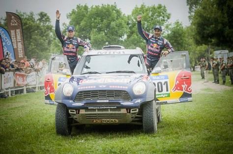 Нассер Аль-Аттия, Катар Red Bull Rally Team, Матье Бомель