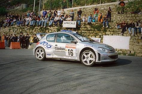 Ралли Италии 2002 - Маркус Гронхольм - Пежо 206
