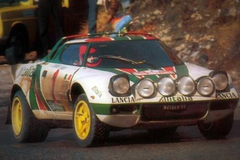 Ралли Монте-Карло 1977 - Сандро Мунари - Лянча Стратос