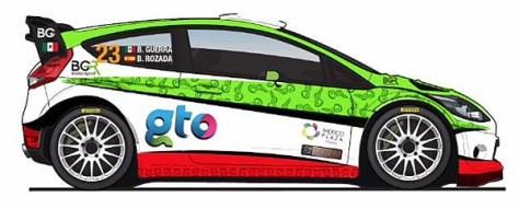 Ралли Мексики 2015 - Бенито Герра - Форд