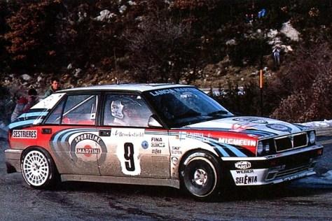 Ралли Монте-Карло 1991 - Юха Канккунен - Лянча