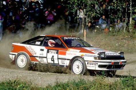 Ралли 1000 озер 1990 - Карлос Сайнс - Тойота