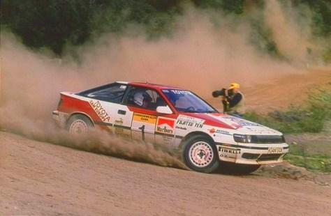 Ралли Австралии 1989 - Юха Канккунен - Тойота