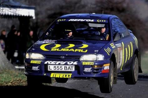 Ралли Великобритании 1995 - Колин Макрей - Субару