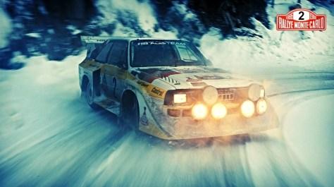 Ралли Монте-Карло 1986 - Вальтер Рёрль - Ауди