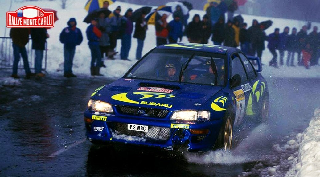 Ралли Монте-Карло 1997 - Колин Макрей - Субару