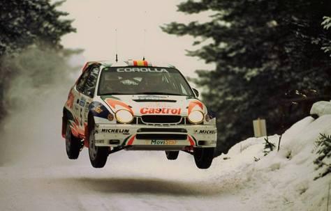 Ралли Швеции 1998 - Карлос Сайнс - Тойота