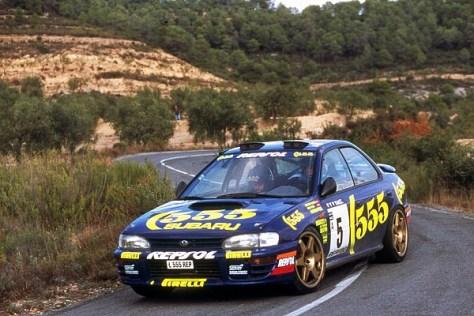 Ралли Испании 1995 - Карлос Сайнс - Субару