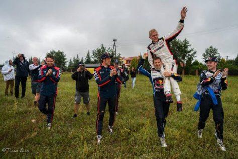 Ралии Польши 2016 - Отт Тянак - Себастьен Ожье