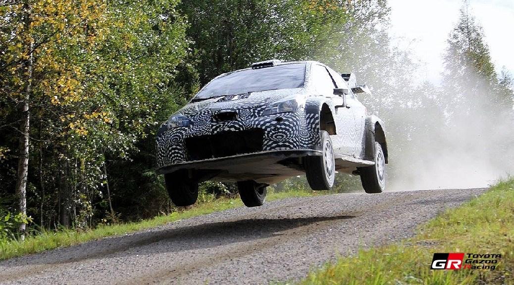 Toyota Yaris WRC 2017 - Юхо Хянинен - Тесты в Финляндии в 2016