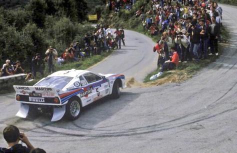 Ралли Корсики 1984 - Маркку Аллан Ален - Илкка Кивимяки - Lancia Rally 037