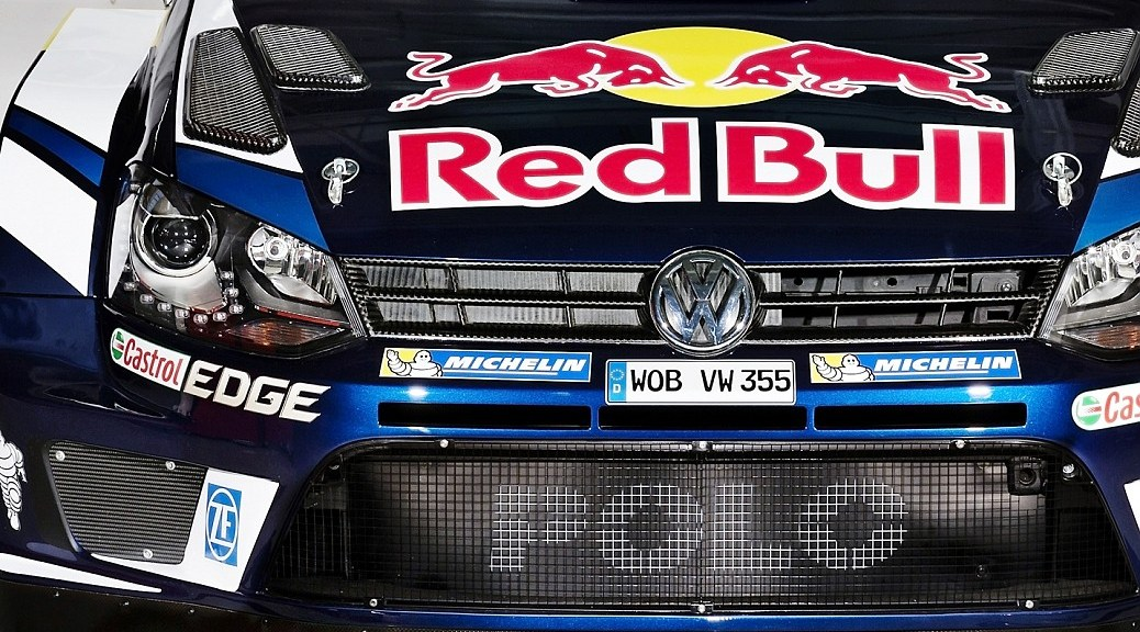 Volkswagen Polo R WRC 2016 - Red Bull