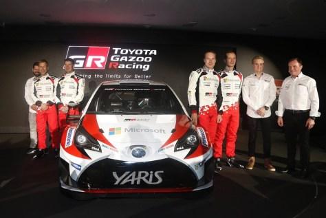 Экипажи Toyota Yaris WRC