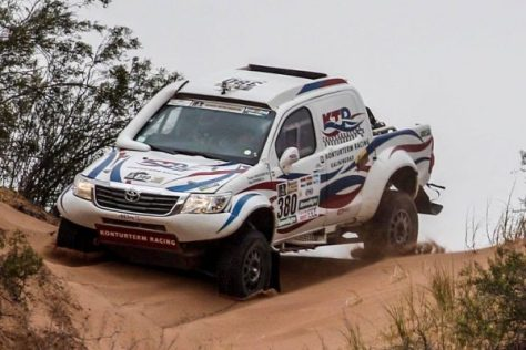 Ралли Дакар 2017 - Сергей Шихотаров - Тойота