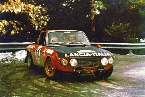 Ралли Монте-Карло 1972 - Сандро Мунари - Марио Мануччи - Lancia Fulvia 1,6HF