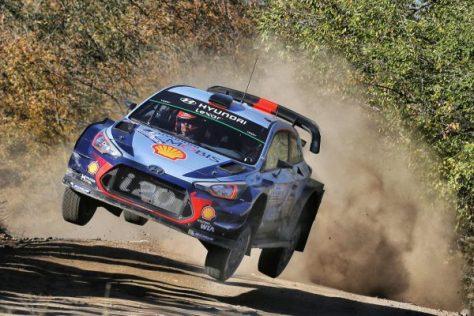 Ралли Аргентины 2017 - Тьерри Невилль - Николя Жильсуль - Hyundai i20 Coupe WRC