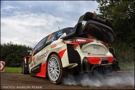 Ралли Германии 2017 - Эсапекка Лаппи - Тойота