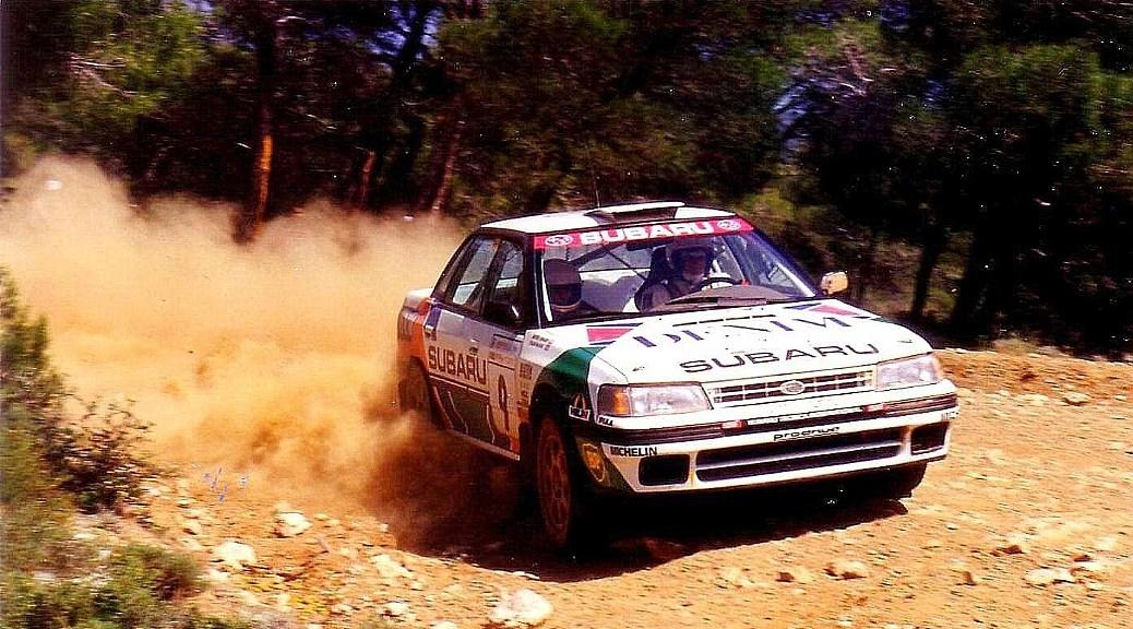 Акрополис ралли 1992 - Колин Макреё - Субару
