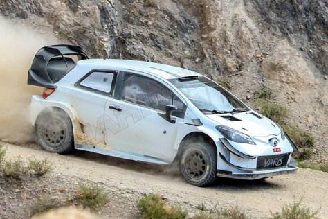Э.Лаппи / Я.Ферм - Toyota Yaris WRC - тест в Испании - ноябрь 2017