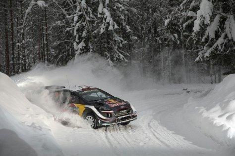 Ралли Швеции 2018 - Себастьен Ожье - Форд
