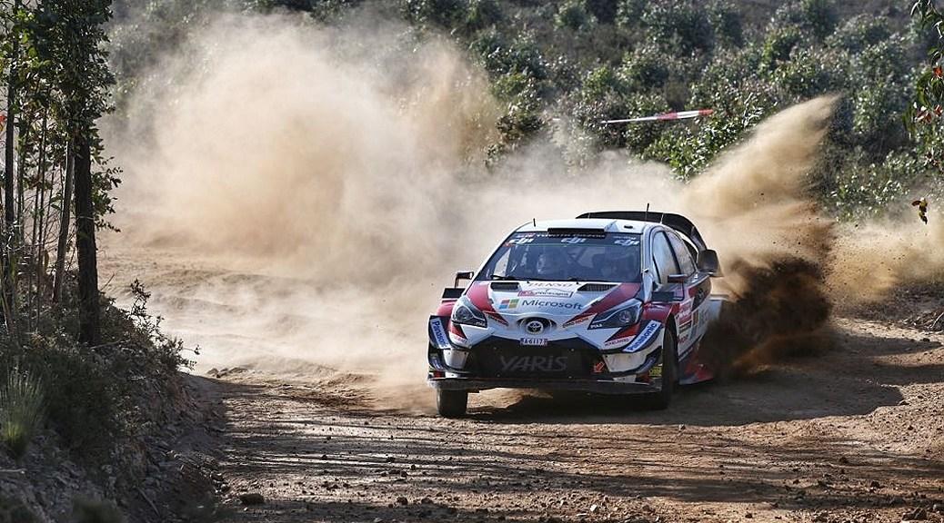 Ралли Португалии 2018 - Яри-Матти Латвала - Тойота