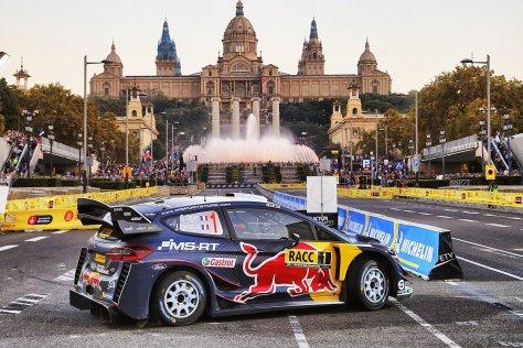 Ралли Испании 2018 - Себастьен Ожье - М-Спорт Форд