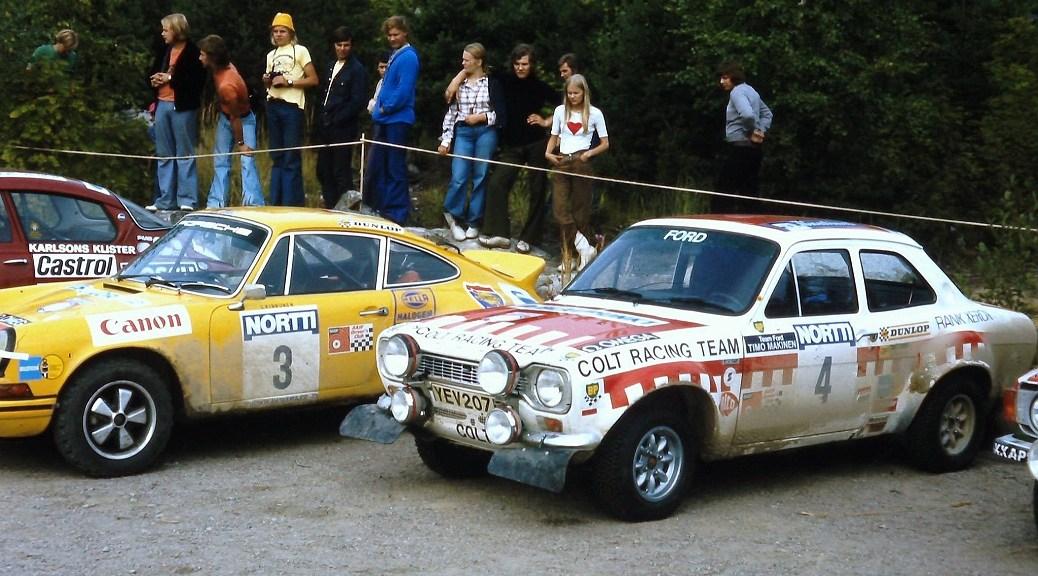 "Ралли ""1000 озёр"" 1973 - Тимо Мякинен - Форд"