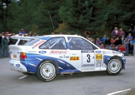 Ралли Испании 1993 - Франсуа Делякур - Форд