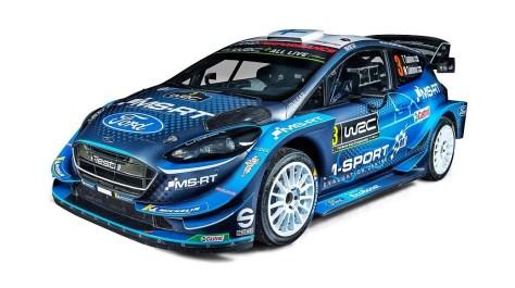 Ливрея Ford Fiesta WRC на 2019 год