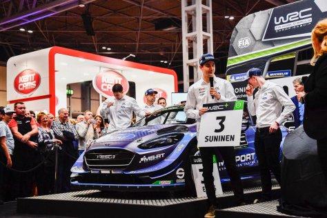 Autosport International 2019 - Теему Сунинен - М-Спорт Форд