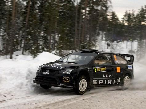 Ралли Швеции 2010 - Маркус Гронхольм - Тимо Раутиайнен - Форд