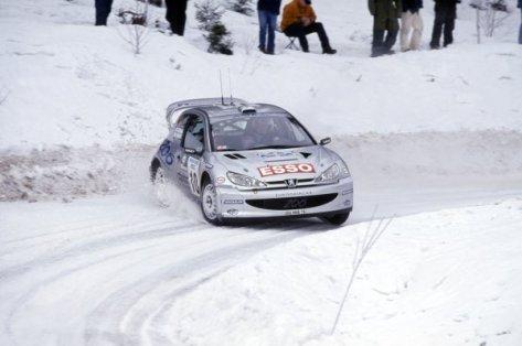 Ралли Швеции 2000 - Маркус Гронхольм - Пежо