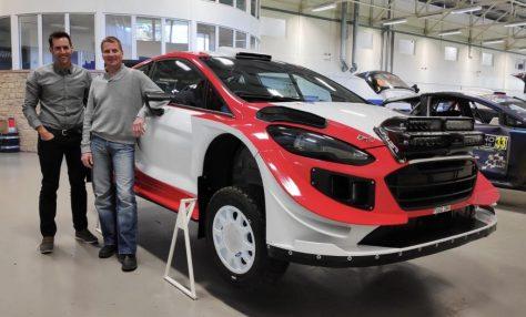 Ричард Милленер - Ford Fiesta WRC - Янне Туохино