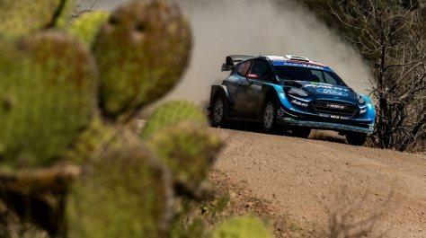 Ралли Мексики 2019 - Элфин Эванс - М-Спорт Форд