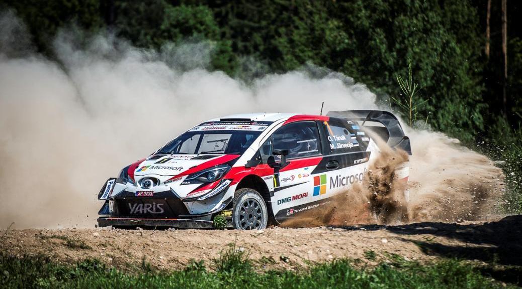Ралли Эстонии 2019 - Отт Тянак - Тойота