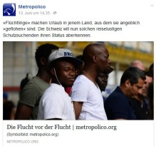 Bericht von Metropolico