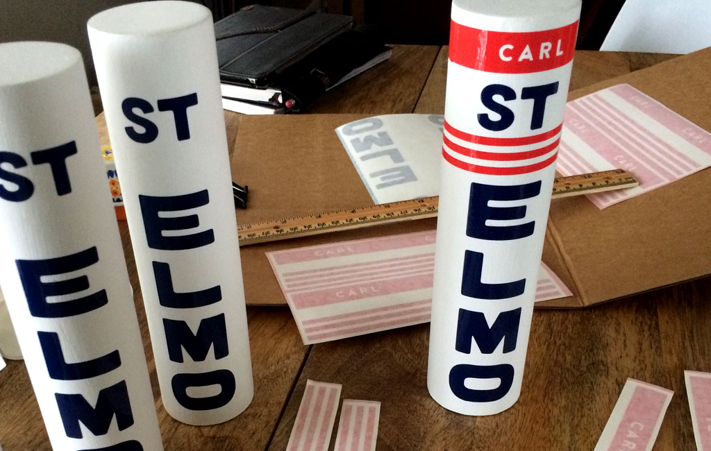 St.Elmo tap handles