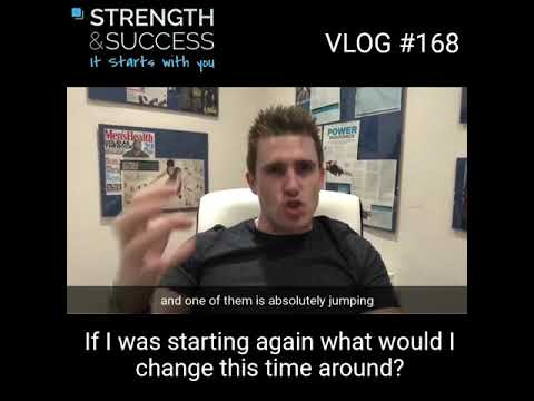 VLOG 168 – If I started again, what would I change?