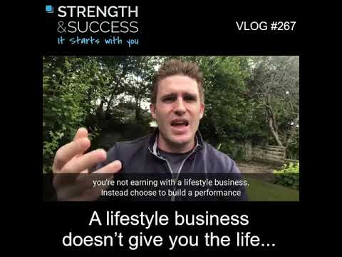 VLOG 267 | A lifestyle business doesn't give you the life…?