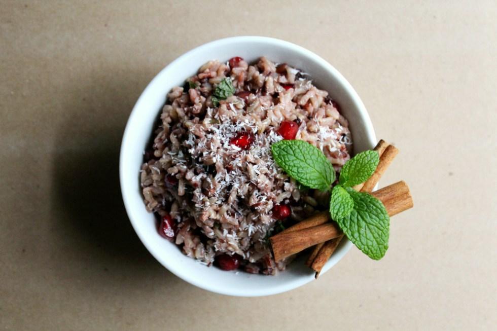 Indian Christmas Rice | Strength and Sunshine @RebeccaGF666 #indian #sidedish #glutenfree #vegan #coconut #rice