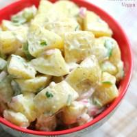 Classic American Potato Salad (Gluten-Free, Vegan, Allergy-Free)