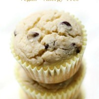 Gluten-Free Bakery-Style Chocolate Chip Muffins (Vegan, Allergy-Free)