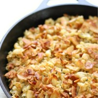 Gluten-Free Baked Vegan Bacon Ranch Pasta Skillet (Allergy-Free)