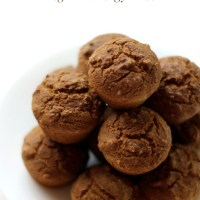 Mini Gluten-Free Gingerbread Muffin Bites (Vegan, Allergy-Free)