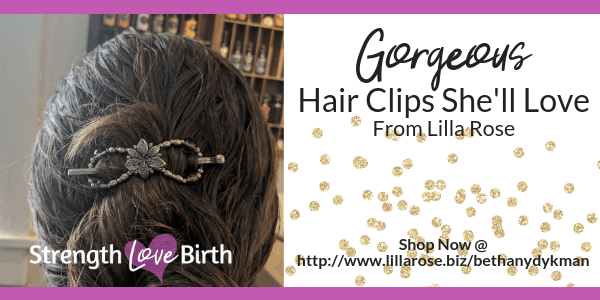 Beautiful hair clip for gift for any woman--including mom, grandma, daughter, sister